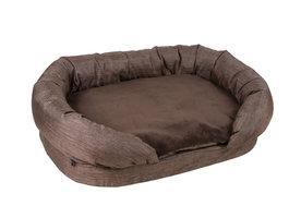 Zetel bed (Fantastic Elegance) bruin