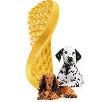 Pet+me borstel geel kortharige hond