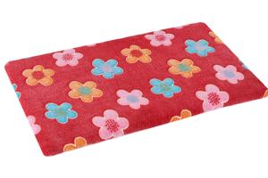 Plain mat O'lala Pets Red Flower