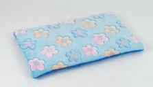 Plain mat O'lala Pets Blue Flower