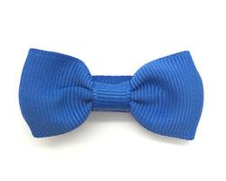 Strikje stof kobalt blauw