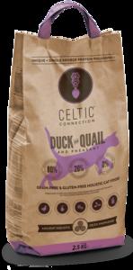Celtic Connection eend met kwartel en fazant 2,5 kg