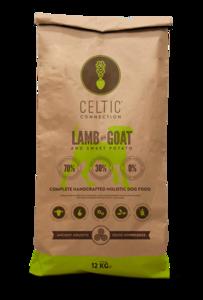 Celtic Connection lam met geit & zoete aardappel 12KG