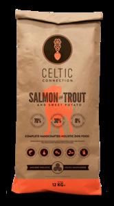 Celtic Connection zalm met forel & zoete aardappel 12KG