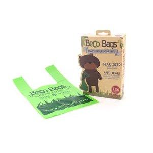 Becobags poepzakjes met handvat (120)